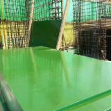 4-25 mm Green PP Plastic Film Faced Plywood With Poplar Core