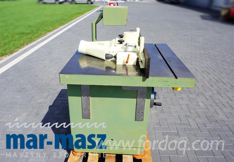 Frezarka dolnowrzecionowa GOMAD FD-2, frezarka do elementów prosto i krzywoliniowych, maszyna do wpustów, czopów itd.