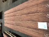天然木皮单板, 黑黄檀木, 切四等分,平坦