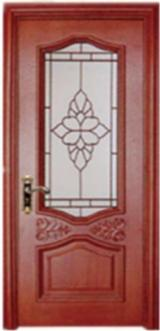 null - High quality sound insulation against moisture acacia wood door