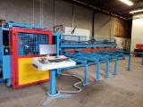 机具、硬件、加热设备及能源 北美洲 - 锯切、布料、成型、镗孔、打磨加工中心 Hundegger Speed Cut Machine SC-2 二手 加拿大