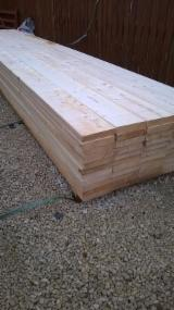 Softwood  Unedged Timber - Flitches - Boules - Offer for Grade ABC PINE Lumber