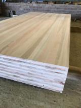 3 Ply Solid Wood Panel - Eucalyptus 20;  30;  40 mm Finger Jointed (Discontinuous Stave) South American Hardwood from Argentina, Entre Rios