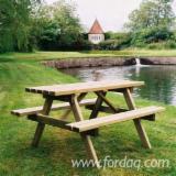 Nameštaj Za Vrtove Za Prodaju - Baštenske Klupe, Tradicionalni, 100 - 5000 komada mesečno
