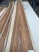 Sliced Veneer importers and buyers - Mango Flat Cut, Figured Natural Veneer