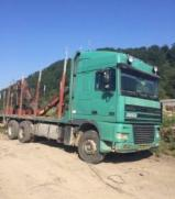 Oprema Za Šumu I Žetvu Kamion Za Prevoz Dužih Stabala - Kamion Za Prevoz Dužih Stabala DAF Polovna 2001 Rumunija