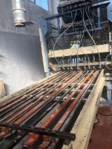 Maşini şi utilaje (noi/second hand), feronerie, produse de tratare a lemnului - Vand Linie Productie Ambalaje Delta CHT Second Hand Italia