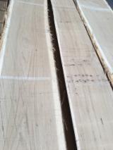 Hardwood  Unedged Timber - Flitches - Boules - 1st class Oak boules, kiln dried