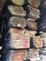 Softwood  Unedged Timber - Flitches - Boules For Sale - Pine  - Scots Pine, Spruce  Boules 23;  30;  35;  40;  50;  65;  75 mm from Germany, Süddeutschland