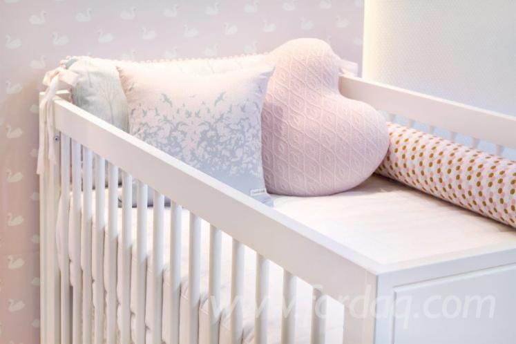 MDF Panel Baby Cribs from Brazil