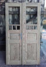 Drvne Komponente, Ukrasi, Vrata I Prozori Zahtjevi - Evropski Lišćari, Vrata, Puno Drvo S Drugim Materijalima Za Završnicu, Breza, Trešnja, Hrast, Oblaganje Pravim Drvetom