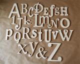 Kids Bedroom Furniture - wooden alphabet