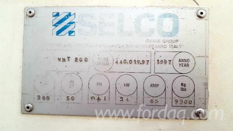 Раскроечные Центры С ЧПУ SELCO WNT 200 Б/У Польша