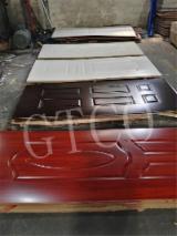Melamine MDF/HDF Moulded Door Skin Panels, 2.7-5 mm
