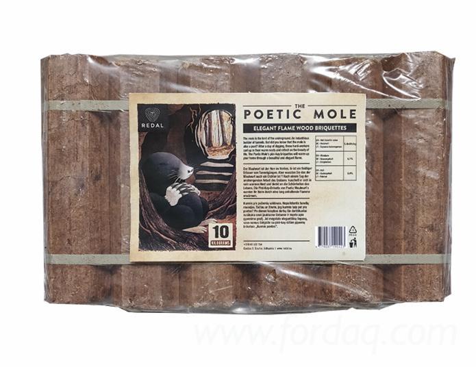 """The Poetic Mole"" Pini-Kay Briquettes"