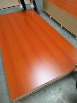 Two-Side Melamine Laminated MDF, 2-25 mm