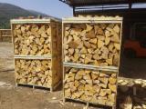 Energie- Und Feuerholz - Esche , Esche  Brennholz Gespalten