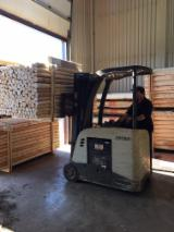 Softwood  Logs - Pickets, posts, tree stakes made of Northern White Cedar (Very resistant and natural)