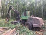 Maszyny Leśne - Harwester John Deere 1270D EcoIII Używane 2008 Łotwa