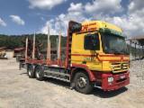 Camion Transport Busteni - Mercedes-Benz Actros 2646 Forestiera, Retarder, 6x4.
