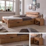 Bedroom Furniture - Contemporary Oak Beds