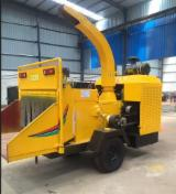 Forest & Harvesting Equipment - YC1000 Movable Wood Chipping Machine