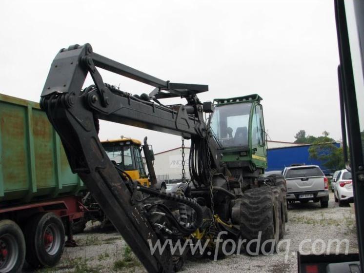 Çeneli Tutucu Makinesi (vinvi) John Deere 1270D Kullanılmış 2007 Polonya Satılık