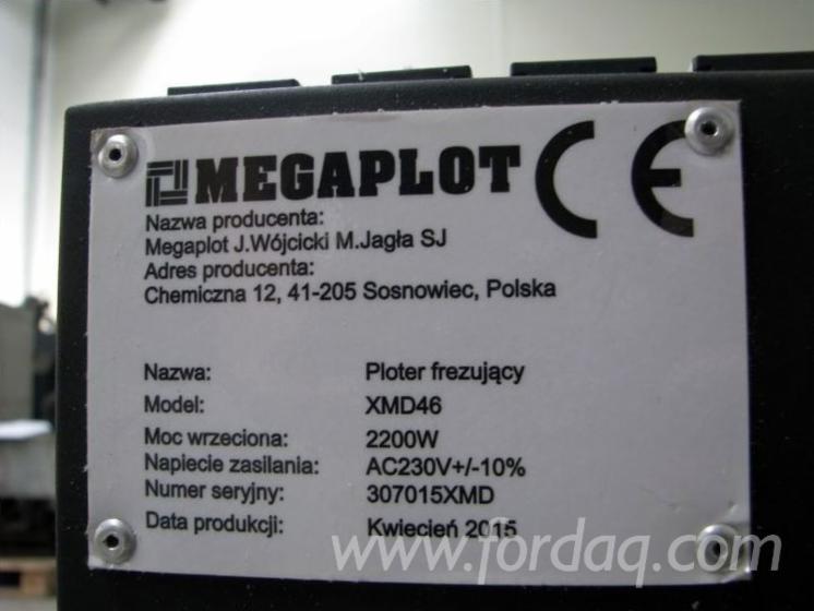 三面-四面加工成型机 MEGAPLOT XMD46 二手 波兰