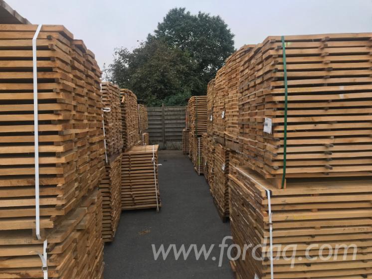 Kd oak sawn timber 27 x 210 mm