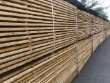 Hardwood  Sawn Timber - Lumber - Planed Timber - KD Oak Planks, 27 x 240 mm
