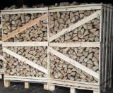 薪材、木质颗粒及木废料 - 劈切薪材 – 未劈切 碳材/开裂原木