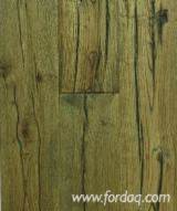 Böden Und Terrassenholz - Eiche, CE, Einblatt Breitdiele
