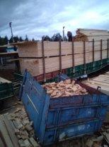 Russia Sawn Timber - FSC 18-200 mm Kiln Dry (KD) Siberian Pine Planks (boards) from Russia, Krasnoyarsk Territory City Lesosibirsk