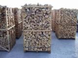 Firewood, Pellets And Residues - Brown Ash, Oak Firewood/Woodlogs Cleaved