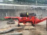 Forstmaschinen Saege Spalt Kombination - Holz Säge Spalt Automat von Hakki Pilke