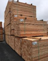 Softwood  Sawn Timber - Lumber Beams - FSC 4 in Air Dry (AD) Northern White Cedar Beams from Canada, Quebec