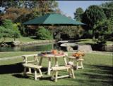 Wholesale  Garden Sets - Outdoor patio/garden furniture made of Northern White Cedar - Round/Square Tables, Benches, Chairs, Swings, Armchairs and Others