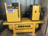 Used Kaeser Model Sigma SM11 Screw Air Compressor with Dryer