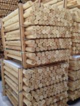 Vender Madeira Redonda Aparada De Forma Cilíndrica Cedro Branco Do Norte FSC Canadá Quebec