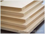 MDF Panels, 3-38  mm, A Quality