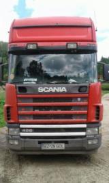 Short Log Truck - Used Scania Short Log Truck Romania