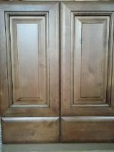 Traditional Kitchen Furniture - Birch Kitchen Cabinets from China