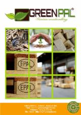 Pallets, Packaging and Packaging Timber - Pine Moulded Pallet Block, High Density