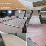 Okoume Plywood, Poplar Core, 2.5 - 4 mm