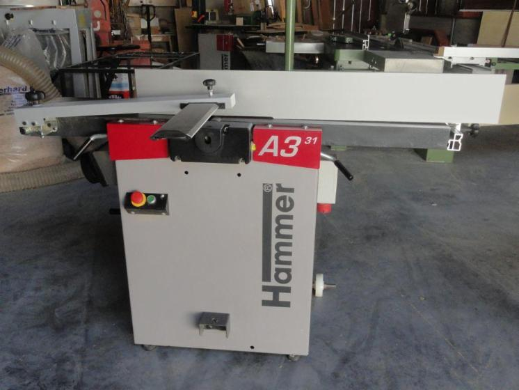 Used HAMMER A3 31 2007 Thicknessing Planer- 1 Side For Sale
