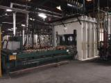 Automatically Fed Press For Veneering Flat Surfaces - Short Cycle Pressing Line for Impregnated Paper with MFC/ MDF