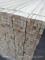 木质组件、木框、门窗及房屋 - 实木, 泡桐, 木框线
