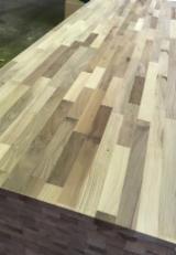 单层实木面板, 核桃