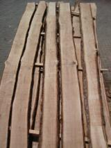 Hardwood  Unedged Timber - Flitches - Boules - Oak unedged 22mm