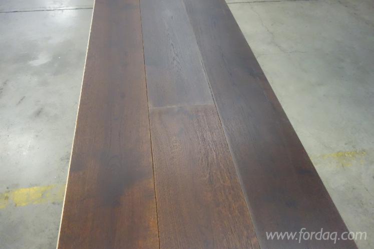 European Engineered Wood Flooring 21x260 Special Stain Black